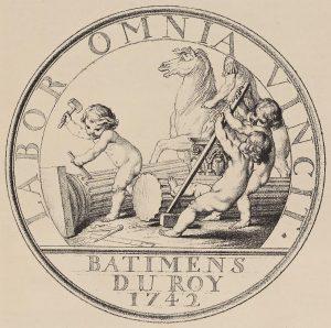 bouchardon-jeton-batimens-du-roy-1742